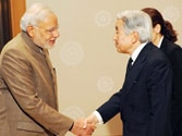 Modi gifts Gita to Japanese emperor, takes a dig at secular friends