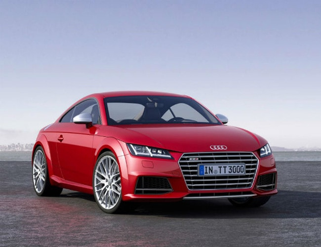 Latest Audi TTS Roadster