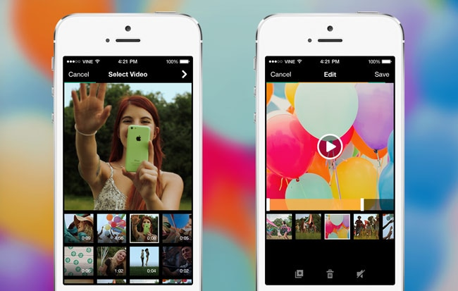 Camera Vintage Android : Vine update allows using camera roll on android technology news