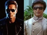 Rajinikanth, Schwarzenegger share cold vibes