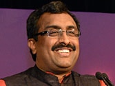 Get used to India that'll not bend: Ram Madhav