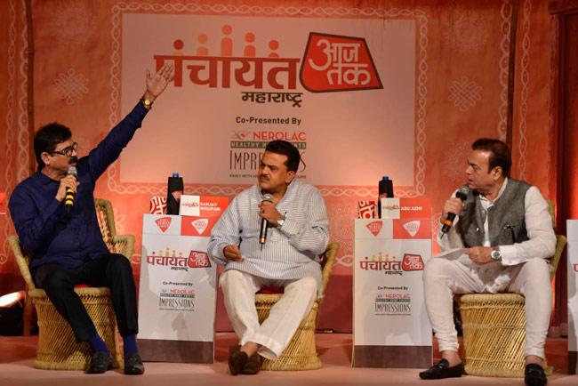 Bala Nandgaonkar, Sanjay Nirupam and Abu Azmi