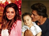Gauri Khan and AbRam to do a cameo in SRK's Happy New Year