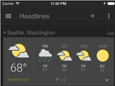 Google extends News & Weather app to iOS users
