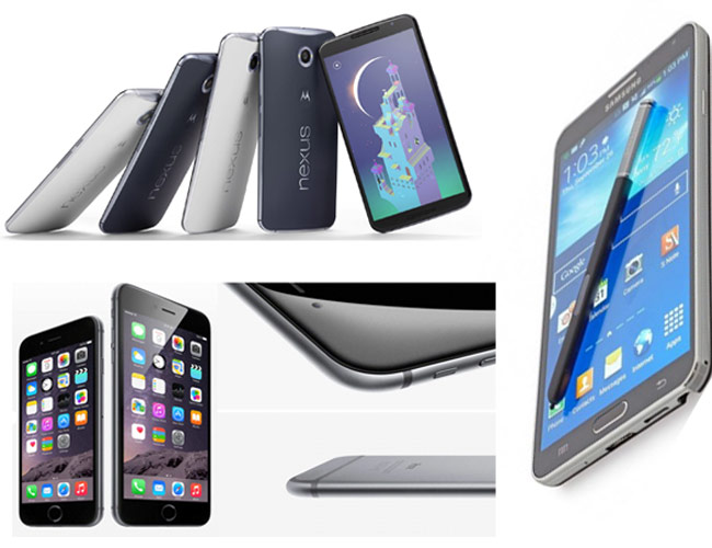 timeless design 3420c ba984 Battle of phablets: Nexus 6 vs Note 4 vs iPhone 6 Plus - Technology News