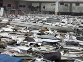 Cyclone Hudhud damages Visakhapatnam Airport, flood water enters runway