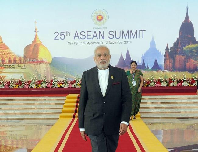PM Modi at ASEAN