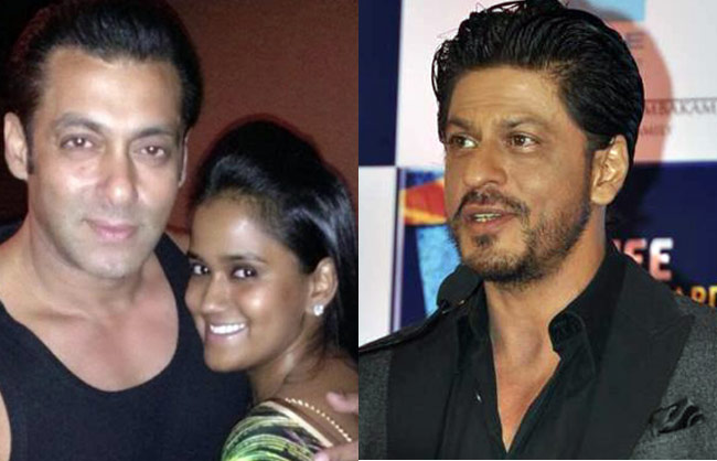 Salman Khan Arpita And SRK