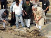 PM Modi at Assi Ghat on Saturday
