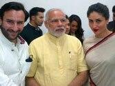 Saif Ali Khan in awe of Narendra Modi, finds him glamorous