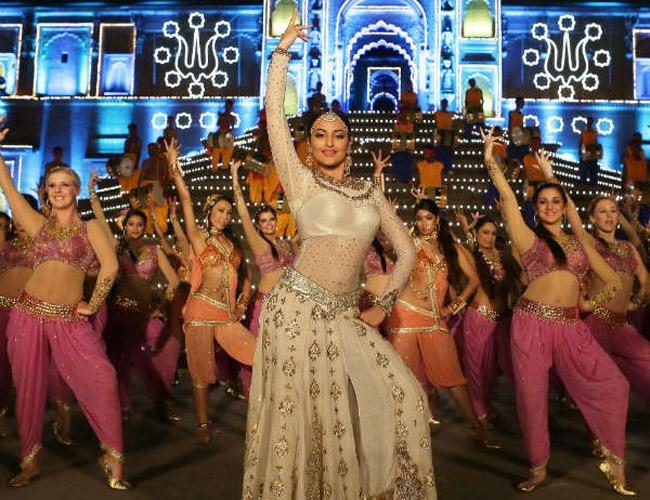 watch sonakshi sinha s tevar in radha nachegi song movies news