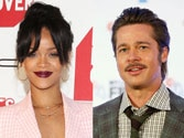 Brad Pitt asks Rihanna, What the f**k went wrong