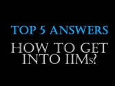 TOP 5 Answers to Crack Personal Interview at IIMs
