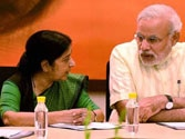 Sushma Swaraj to make statement in Parliament on Modi's foreign visits
