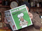 'All is forgiven': Charlie Hebdo's first edition published after attack sells out within minutes