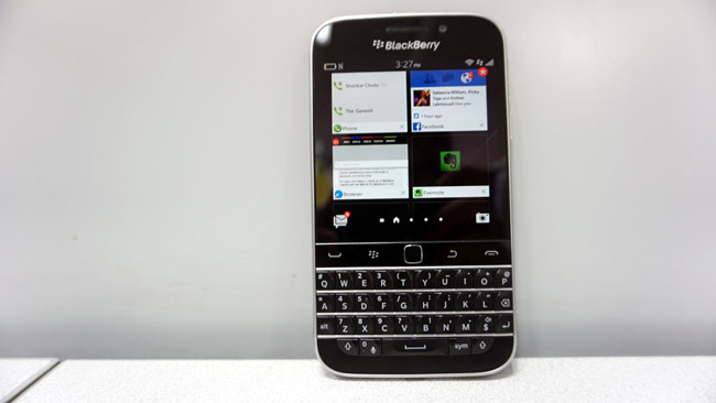 Blackberry classic review the return of the keyboard technology news in the current smartphone landscape hardly any manufacturer makes phones with hardware keyboards blackberry for years has been an exception to the trend reheart Images