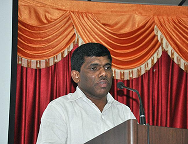 Goa Sports Minister Ramesh Tawadkar