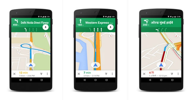 Google Maps Adds Lane Guidance Hindi Instructions For 20 Indian