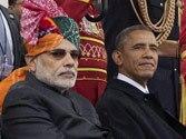Narendra Modi (left) and Barack Obama