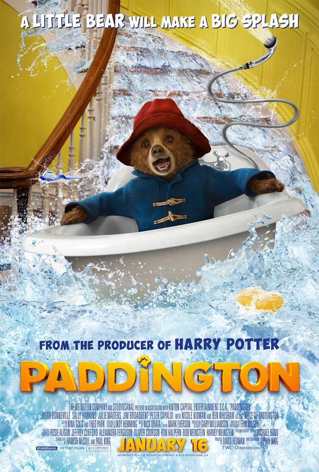 Film poster of Paddington