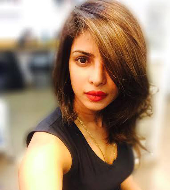 Priyanka Chopra Turns Heads With Her Short Hair Cut