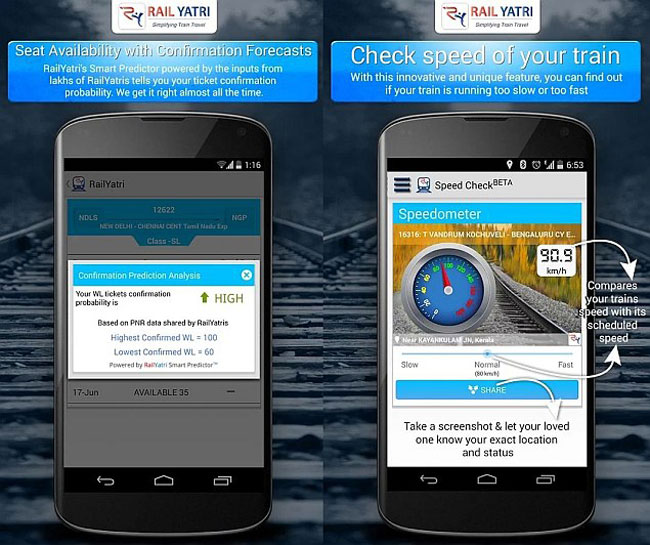 Updated RailYatri app will tell passengers about delays