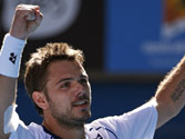Stanislas Wawrinka through to semifinals of Australian Open