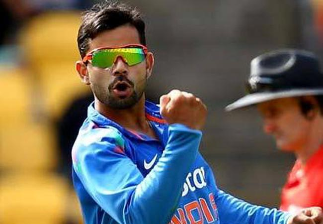 virat kohli becomes the only indian cricketer to be featured in