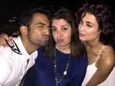 Bigg Boss fever still not over: Farah Khan parties with ex-contestants