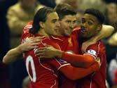 Arsenal into top four as Spurs lose at Liverpool