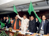 Railways Minister Suresh Prabhu wrestles with presenting a budget that balances populism with growth