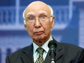 Pakistan for meaningful dialogue with India: Sartaj Aziz