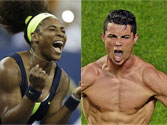 Cristiano Ronaldo, Serena Williams nominated for Laureus award