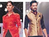Sugar and spice: Bollywood actors walk the runway at Lakme Fashion Week
