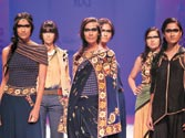 Celebrating India on the ramp