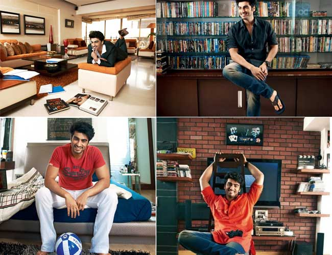 Bollywood celebrity homes from inside