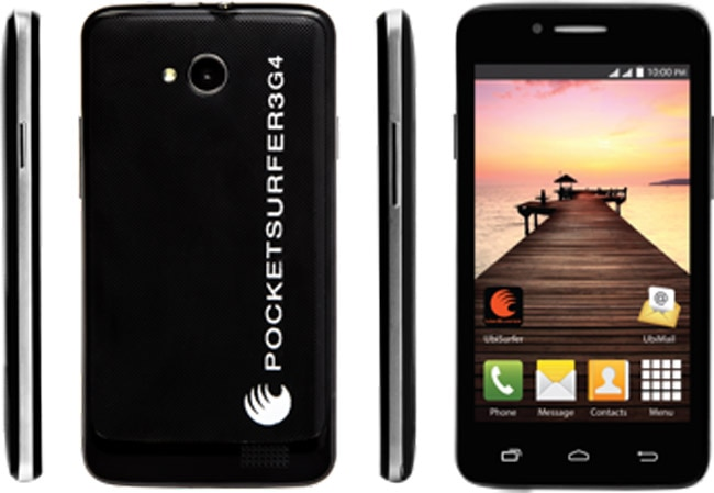 DataWind PocketSurfer 2G4 and 3G4 launched with free