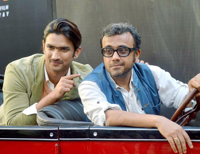 Sushant Singh Rajput as Detective Byomkesh Bakshy