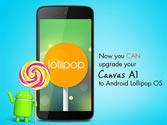 Micromax Canvas A1, Spice Dream Uno Android One handsets to get lollipop 5.1 update