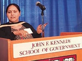 Misa Bharti was merely part of the audience: Harvard University