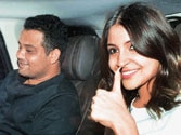 Anushka hosts special screening for her movie NH10