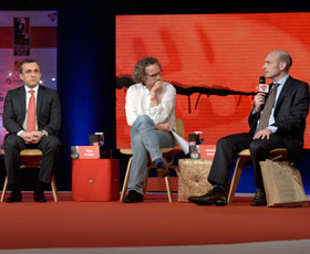 Bernard Haykel, Amrullah Saleh, Theo Padnos and Nicolas Henin (Photo credit: Vikram Sharma | India Today)