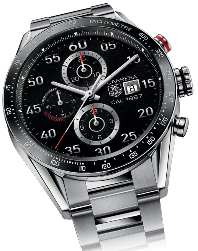 timeless design 3051c 580d3 The Tag Heuer smartwatch will offer many of the same functions as the Apple  watch such as geolocation, distance walked and altitude.