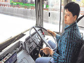 Delhi gets its first woman DTC driver
