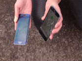 Samsung Galaxy S6 Edge vs iPhone 6 in a drop test