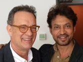 When Irrfan Khan met wonderful Tom Hanks in Budapest