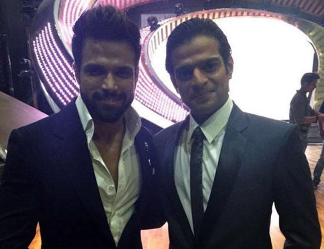 Karan Patel and Rithvik Dhanjani