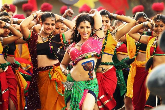 Sunny Leone in a still from Ek Paheli Leela