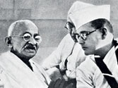 Where did Subhas Chandra Bose go?