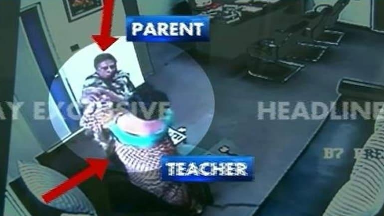 Jalandhar school brawl caught on camera